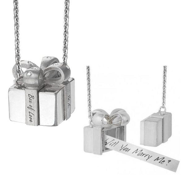 Petra Azar Box of Love Locket Necklace