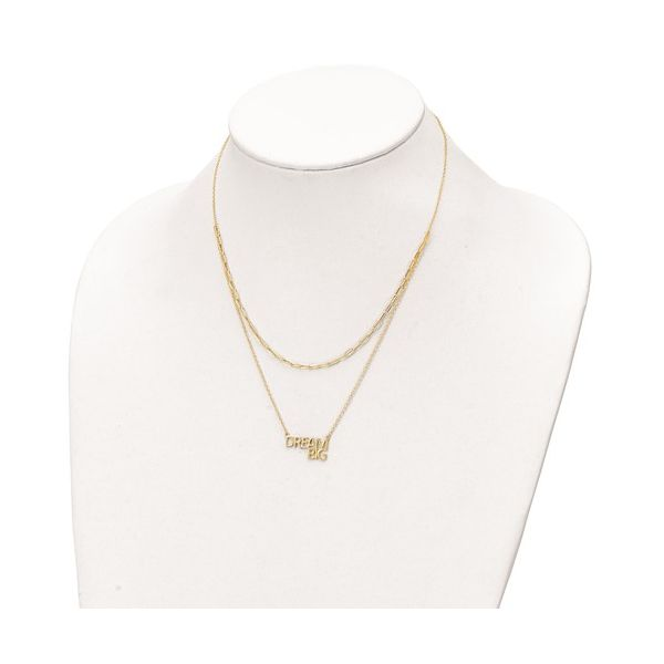 Dream Big Layered Necklace Image 2 Vandenbergs Fine Jewellery Winnipeg, MB