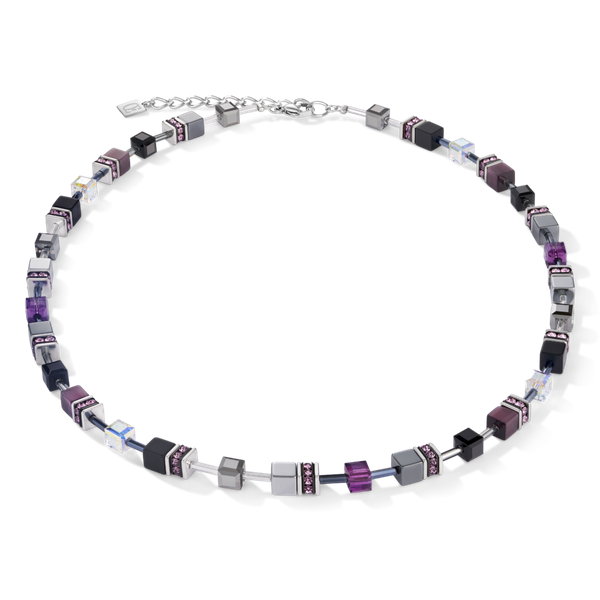 Amethyst GeoCube Necklace Vandenbergs Fine Jewellery Winnipeg, MB
