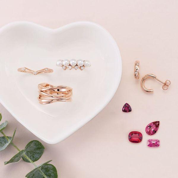 Rose Gold Fashion Rings