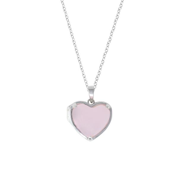 """Sterling Silver """"Lana"""" Heart Locket Vandenbergs Fine Jewellery Winnipeg, MB"""