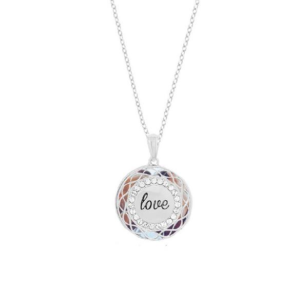 """Sterling Silver """"Love"""" Locket Vandenbergs Fine Jewellery Winnipeg, MB"""