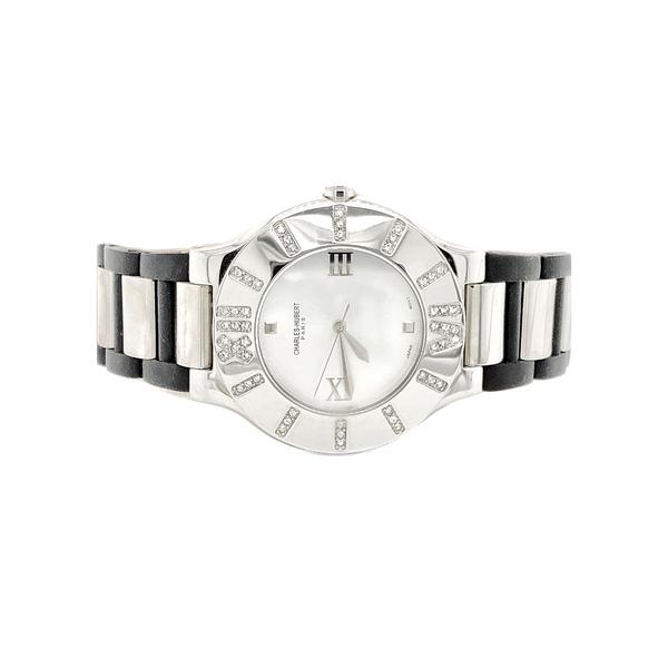 Charles Hubert Stainless Steel Watch Vandenbergs Fine Jewellery Winnipeg, MB