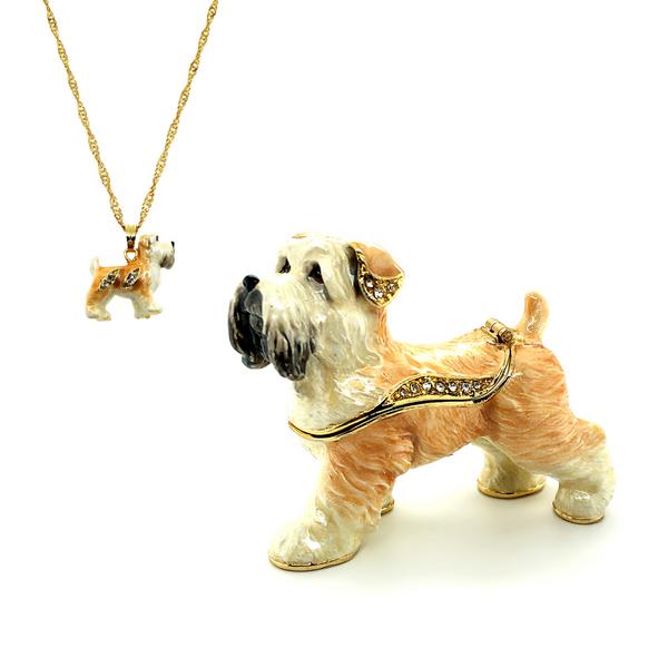 Mopsy Wheaton Terrier Trinket Box Vandenbergs Fine Jewellery Winnipeg, MB
