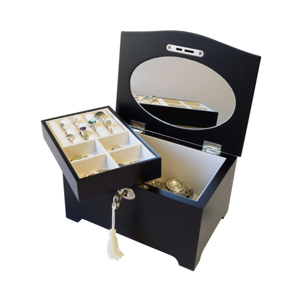 Portia Ladies Lift Top Jewellery Box Image 2 Vandenbergs Fine Jewellery Winnipeg, MB