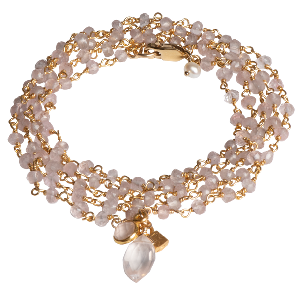 Rose Quartz Necklace Vandenbergs Fine Jewellery Winnipeg, MB
