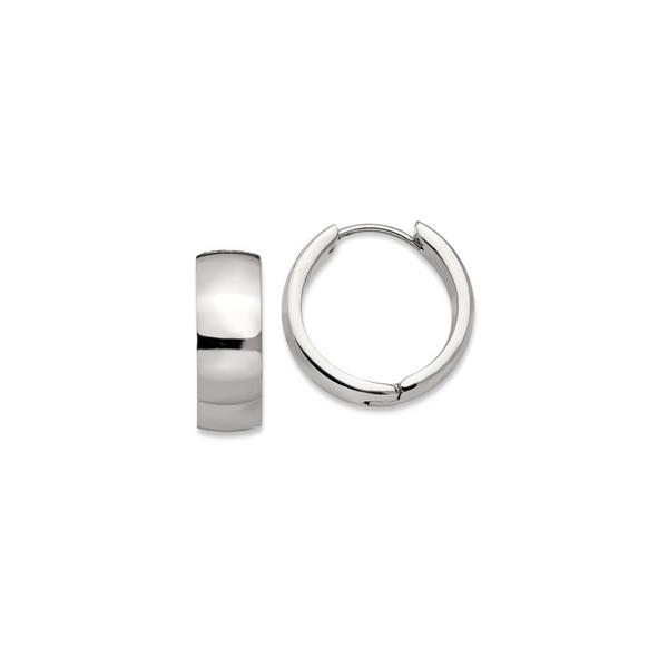 Stainless Steel Mini Hoop Earrings Vandenbergs Fine Jewellery Winnipeg, MB