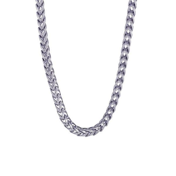 Stainless Steel Franco Chain Image 2 Vandenbergs Fine Jewellery Winnipeg, MB