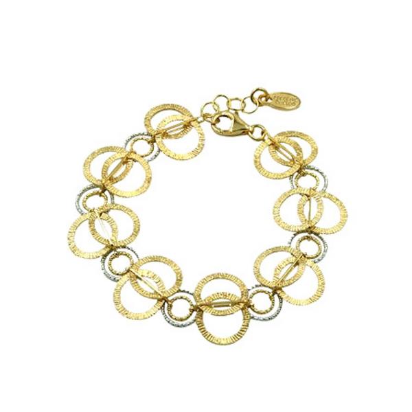 Frederic Duclos Hoop Link Bracelet Vandenbergs Fine Jewellery Winnipeg, MB