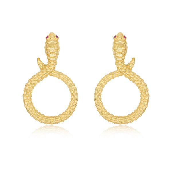Modern Snake Earrings Vandenbergs Fine Jewellery Winnipeg, MB