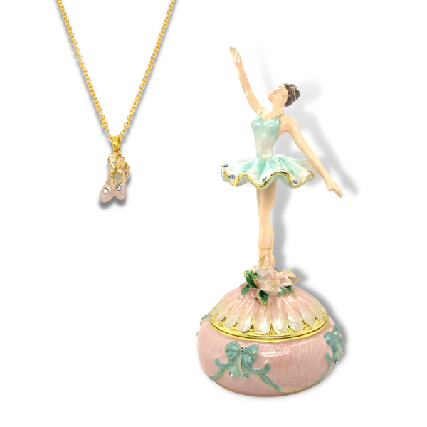 Dance Ballerina Trinket Box Vandenbergs Fine Jewellery Winnipeg, MB