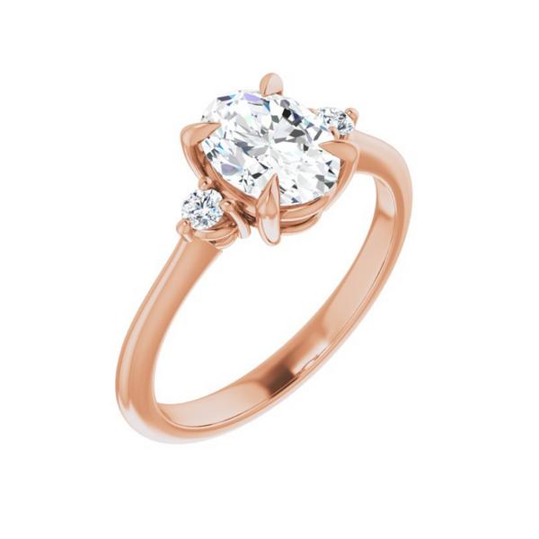 3 Stone Oval Engagement Ring Mounting Vandenbergs Fine Jewellery Winnipeg, MB