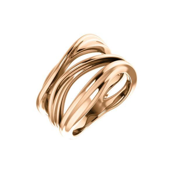Rose Gold Fashion Ring