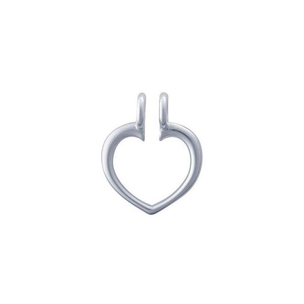 Sterling Silver Heart Ring Keeper Pendant Vandenbergs Fine Jewellery Winnipeg, MB