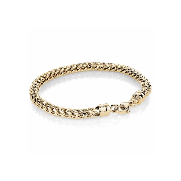 Yellow Stainless Steel Chain Bracelet Vandenbergs Fine Jewellery Winnipeg, MB