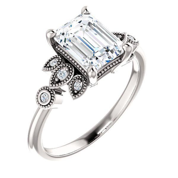 stuller engagement ring white emerald