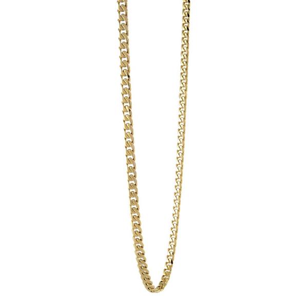 Yellow Stainless Steel Chain Necklace Vandenbergs Fine Jewellery Winnipeg, MB
