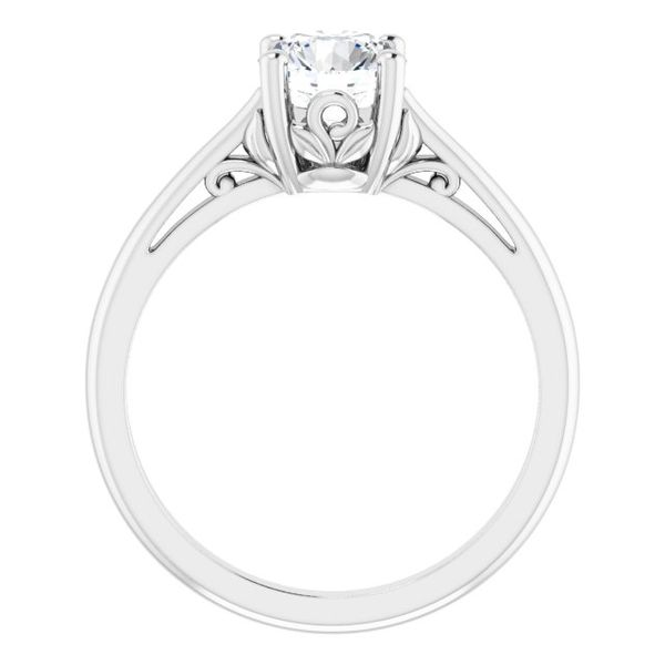 Round Solitaire Engagement Ring Mounting Image 2 Vandenbergs Fine Jewellery Winnipeg, MB