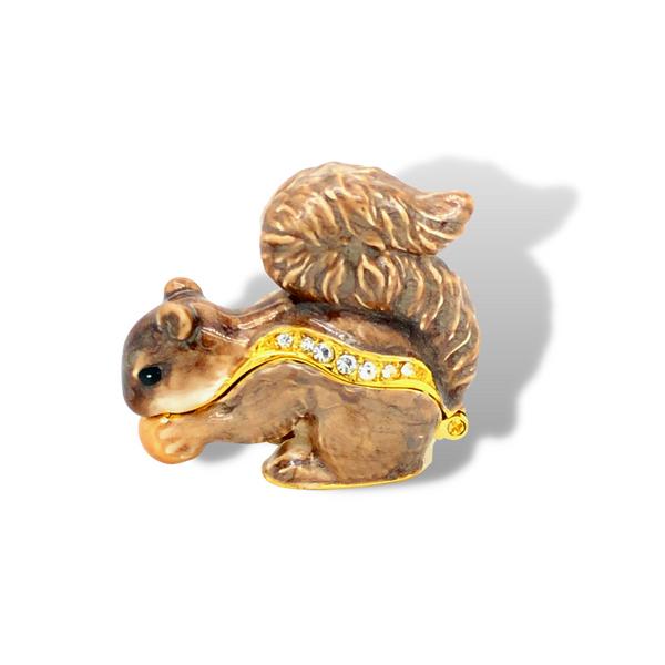 Playful Squirrel Trinket Box Image 2 Vandenbergs Fine Jewellery Winnipeg, MB