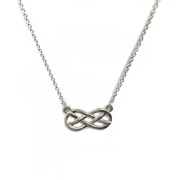 Geometric Infinity Necklace Vandenbergs Fine Jewellery Winnipeg, MB