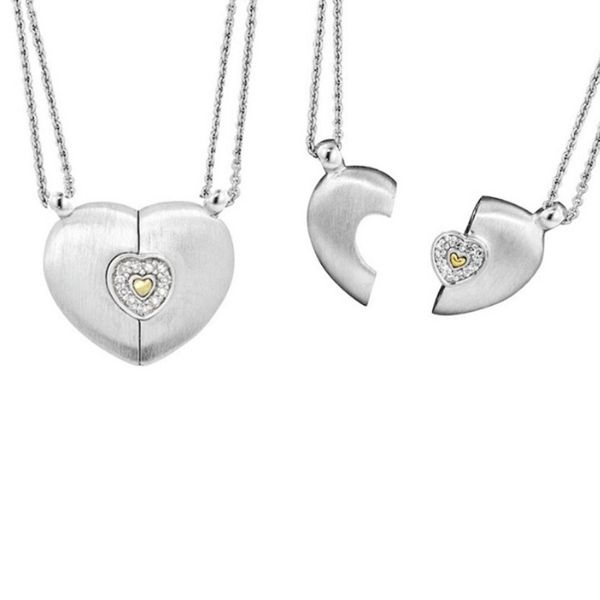 Petra Azar Sterling Silver Heart Magnetic Pendant