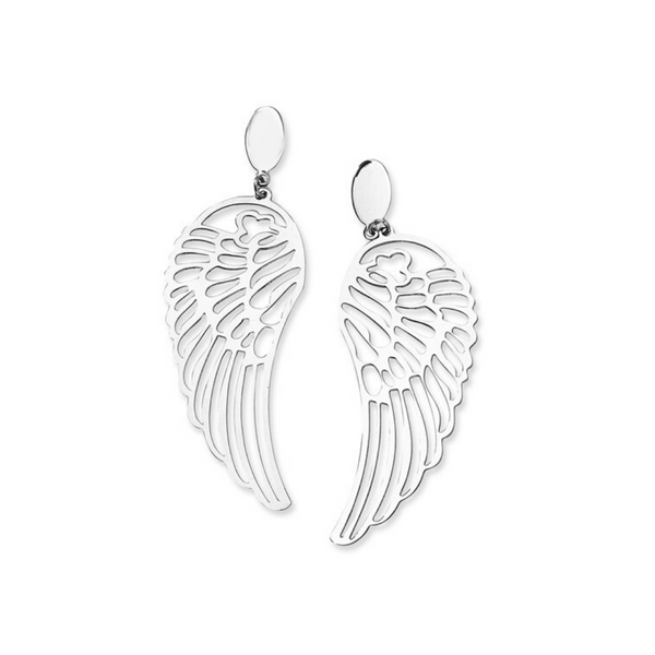 Stainless Steel Wing Earrings Vandenbergs Fine Jewellery Winnipeg, MB
