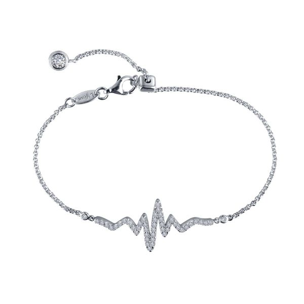 Pave Heartbeat Bracelet Vandenbergs Fine Jewellery Winnipeg, MB