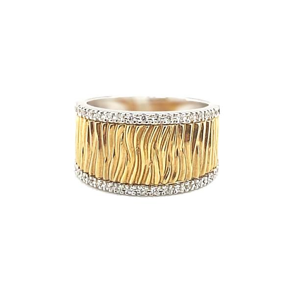 14K Two Tone Diamond Ring Vandenbergs Fine Jewellery Winnipeg, MB