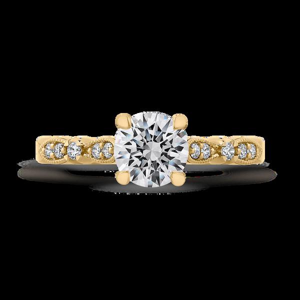 Vintage Style Semi-Mount Engagement Ring Vandenbergs Fine Jewellery Winnipeg, MB