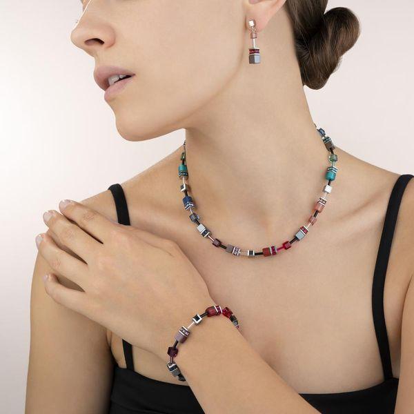 Multicolor GeoCube Necklace Image 2 Vandenbergs Fine Jewellery Winnipeg, MB