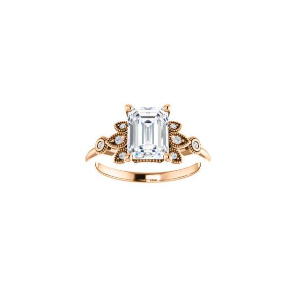 stuller engagement ring rose emerald