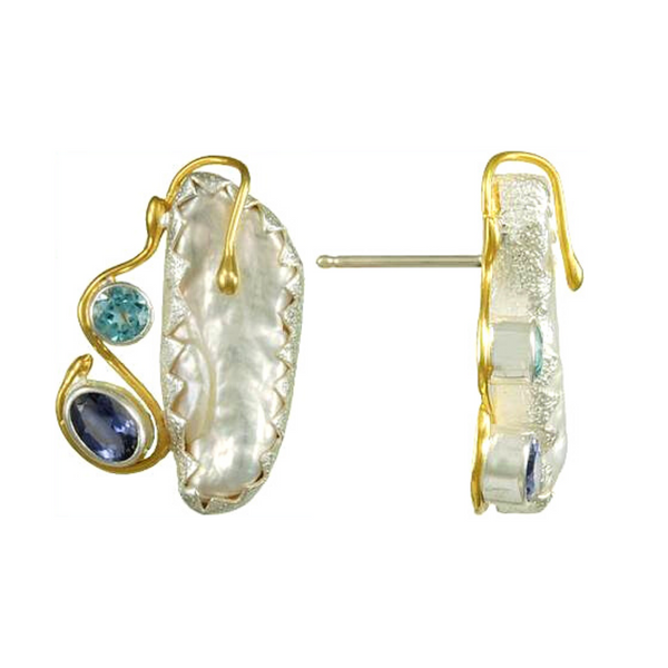 Pearl Gemstone Earrings Vandenbergs Fine Jewellery Winnipeg, MB
