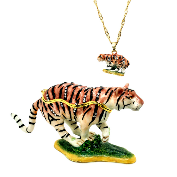 Tiger Trinket Box Vandenbergs Fine Jewellery Winnipeg, MB