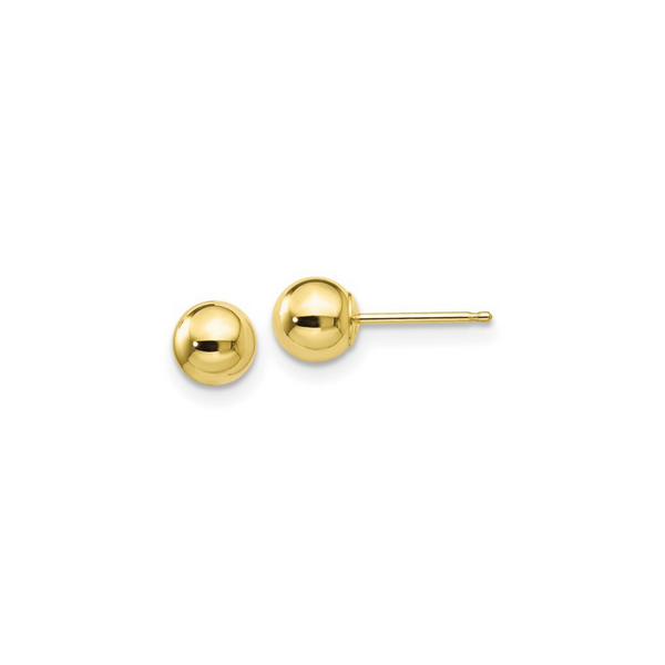 10K Yellow Gold Post Studs Vandenbergs Fine Jewellery Winnipeg, MB