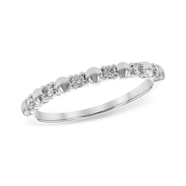 14K White Gold Diamond Wedding Ring Vandenbergs Fine Jewellery Winnipeg, MB