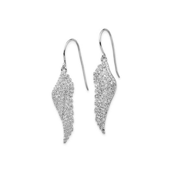 Sterling Silver CZ Angel Wing Earrings Vandenbergs Fine Jewellery Winnipeg, MB