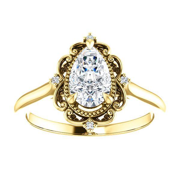 stuller engagement ring yellow