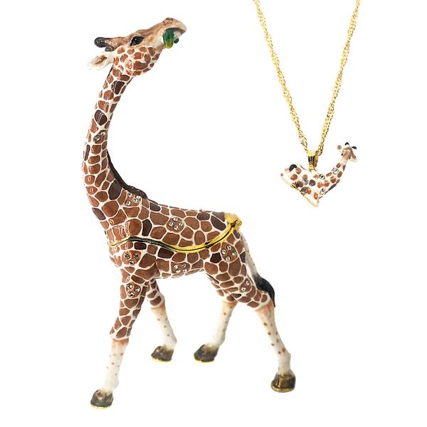 Swanky Giraffe Trinket Box Vandenbergs Fine Jewellery Winnipeg, MB