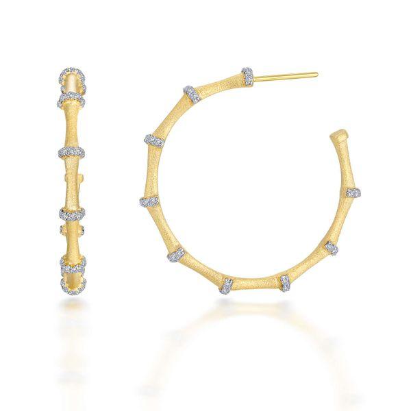 Mixed-Color Bamboo Hoop Earrings Vandenbergs Fine Jewellery Winnipeg, MB