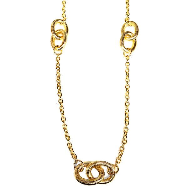 Long Gold Chain Necklace Vandenbergs Fine Jewellery Winnipeg, MB