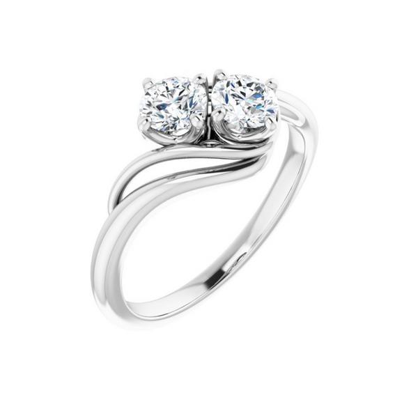 2 Stone Engagement Ring Mounting Vandenbergs Fine Jewellery Winnipeg, MB