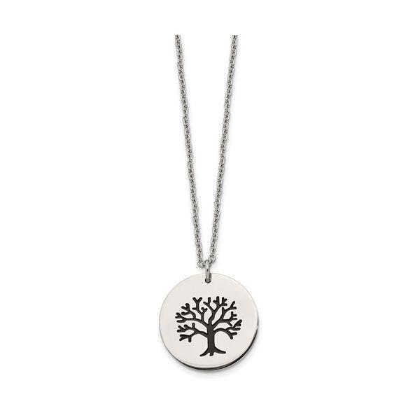 Circle Tree Pendant Image 2 Vandenbergs Fine Jewellery Winnipeg, MB