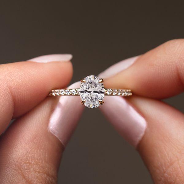 8x6 mm Oval Engagement Ring Mounting Image 2 Vandenbergs Fine Jewellery Winnipeg, MB