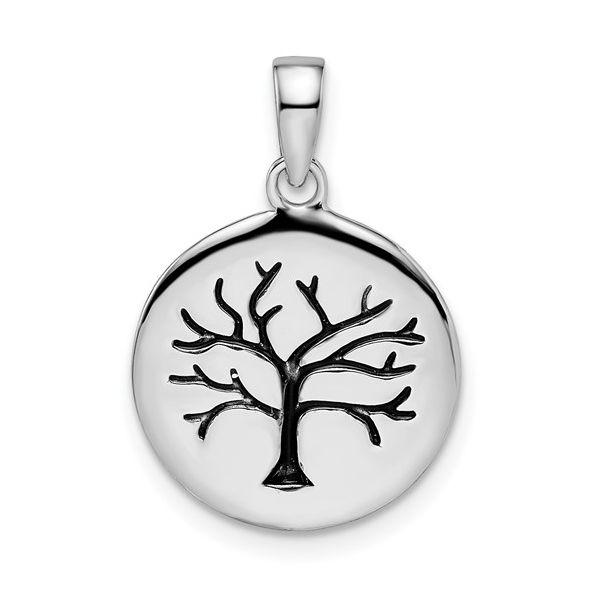 Circle Tree Pendant Vandenbergs Fine Jewellery Winnipeg, MB