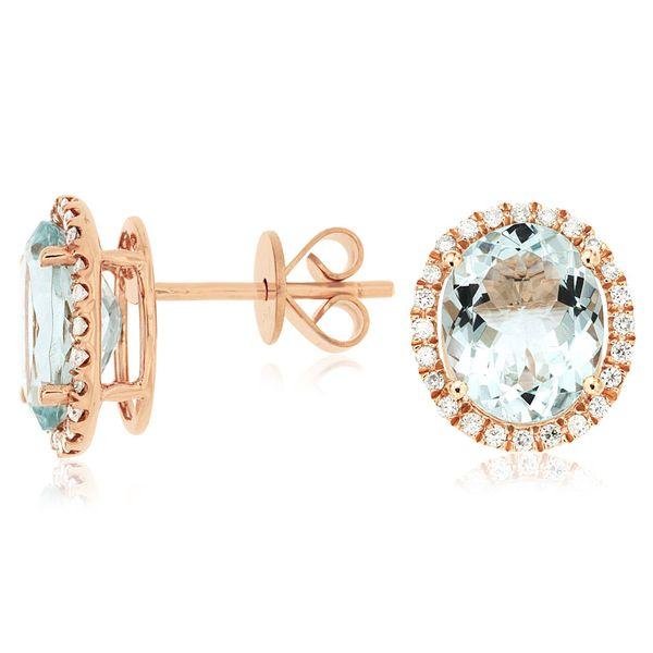 diamond morganite necklace