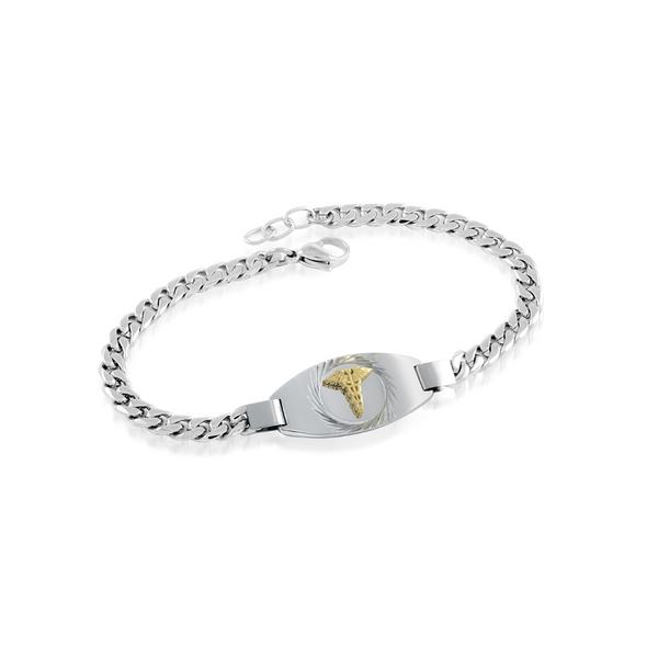 Ladies Stainless Steel Medical Bracelet Vandenbergs Fine Jewellery Winnipeg, MB