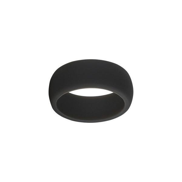 TruBand Wide Silicone Ring In Black Vandenbergs Fine Jewellery Winnipeg, MB