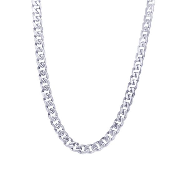 Stainless Steel 4.6 mm Curb Chain Vandenbergs Fine Jewellery Winnipeg, MB