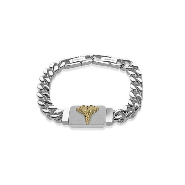 Mens Stainless Steel Medical Bracelet Vandenbergs Fine Jewellery Winnipeg, MB