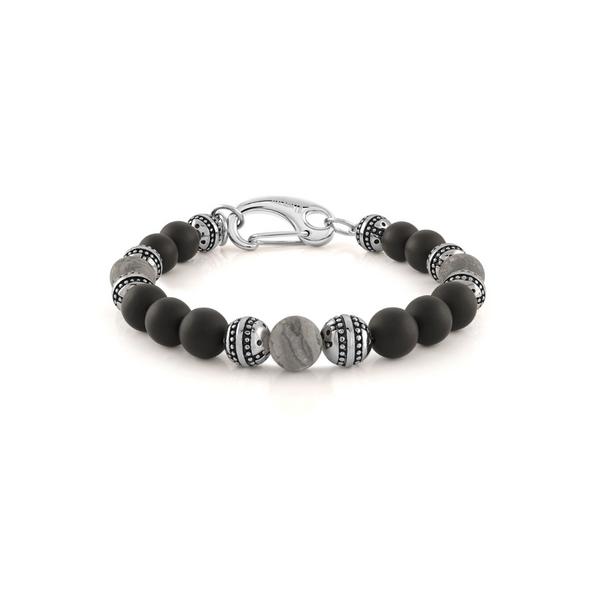Matte Onyx Bead Bracelet Vandenbergs Fine Jewellery Winnipeg, MB
